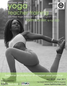 Yoga Teacher Training Program With Faith Hunter